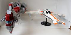 NovaDive (Jayfourke) Tags: fighter lego space spaceship tor starfighter oldrepublic