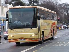 YN10 ABX (Cammies Transport Photography) Tags: road england bus scotland volvo coach edinburgh rugby profile amp v williamson moffat specials corstorphine plaxton abx yn10 yn10abx