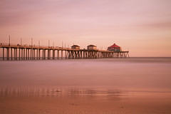 Huntington Beach Pier (Hieroglyphics...) Tags: california longexposure sunset canon photography pier 7d slowshutter huntingtonbeach huntingtonbeachpier sunsetcolors dancingclouds goldenmoment californiasunset chasingsunsets