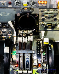"FOCUS ON THE 727 COCKPIT CENTER CONSOLE... NOTE THE FLAPS ARE ""INOP"" (AvgeekJoe) Tags: plane airplane nikon aircraft aviation united cockpit museumofflight dslr unitedairlines 727 jetliner trijet boeing727 cockpitphoto themuseumofflight n7001u d5300 boeing727022 nikond5300 727finalflight"