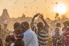 Basking in Sunlight & Holy Sprinkles | Mahamaham,Kumbakonam 2016 (vjisin) Tags: travel people sunlight india 50mm nikon asia religion ngc holy event hinduism tamilnadu southindia nikond3200 travelphotography kumbakonam documentaryphotography niftyfifty indianheritage mahamaham2016 southindiankumbamela2016
