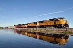 UP MRVSJ-21 (caltrain927) Tags: california ca railroad mixed pacific union bahia freight manifest emd gp402 sd70m