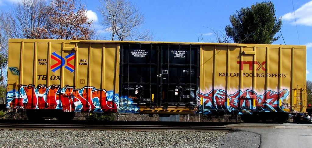 Jihan Timetomakethepasta Tags Train Graffiti Boxcar Freight Mds Tbox Ttx Jihan