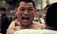 Wai Kru Sak Yant Festival, Thailand (Ashit Desai) Tags: festival tattoo way thailand temple body traditional culture monk buddhism tattoos teacher needle monks thai ritual wai wat bang homage phra tattooing desai sak 2016 nakhon tant chaisi pathom kru yant ashit watbangphra
