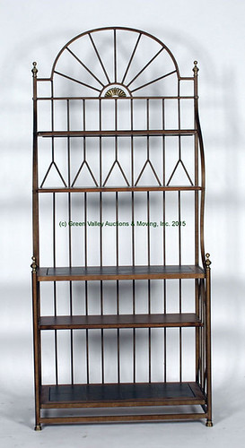 Iron Baker's Rack with Marble Inserts $242.00 - 10/23/15