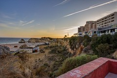 Praia da Rocha (stephgallant) Tags: sunset summer beach portugal canon landscape rocks wideangle colourful algarve dslr hdr highdynamicrange portimo praiadarocha sigma1020mm 2015 canon60d