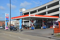 Esso, Doncaster South Yorkshire. (EYBusman) Tags: station town garage south yorkshire centre jet mobil gas service petrol gasoline esso filling exxon doncaster hirsts eybusman