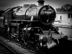North Norfolk Railway Spring Gala Day (www.fstop22.info) Tags: heritage outdoors mono norfolk engine railway steam railways locomotives locos boilers