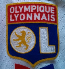 Olympique Lyonnais match worn shirt 2008/09 Cristiano Marques Gomes vs. FC Metz (11.11.2008)