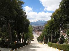 """San Cristóbal de las Casas: vue depuis la colline de Guadalupe <a style=""""margin-left:10px; font-size:0.8em;"""" href=""""http://www.flickr.com/photos/127723101@N04/25616719831/"""" target=""""_blank"""">@flickr</a>"""