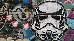 Drew Funk & Caper... (colourourcity) Tags: streetart graffiti starwars df awesome melbourne caper erg nofilters drewfunk burncity colourourcity capererg