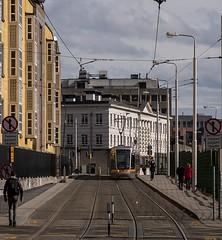 Luas Tram (leppre) Tags: dublin train tracks luas dublincity bridewell luastram