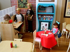 Boolster's Brew Saturday 1/4 (rata-tat-tat) Tags: dolldiorama barbiediorama