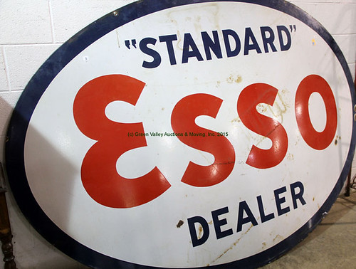 Standard Esso Sign - $1595.00 (Sold June 19, 2015)
