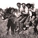 How many can ride the burro  - 1913