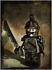 Captain Rust (LegoKlyph) Tags: rust lego steam pirate airship custom steampunk minifigure