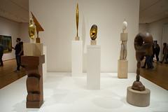Constantin Brancusi's works. MoMA, NYC. (setpower1) Tags: nyc newyorkcity art museum moma museumofmodernart constantinbrancusi minolta28mmf35mcwrokkorsg
