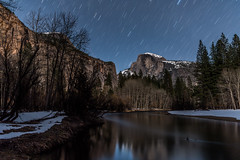 Star Trails Over Yosemite (Mark Willard Photography) Tags: california park ca travel vacation holiday nature night landscape star nikon natural nps trails national valley yosemite service 28 2470 d810