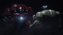 Showdown (~Ian) Tags: lego hulk showdown hulkbuster