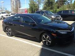 2016 Honda Civic Touring, new car (GOD WEISFLOK) Tags: canada bc mapleridge blackbear gordweisflock weisflock