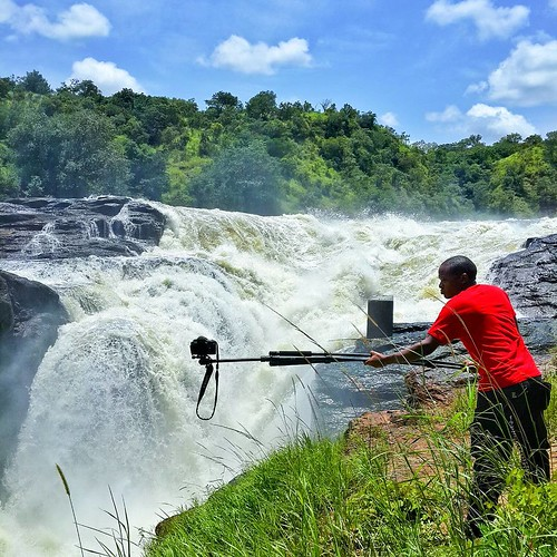 Shooting at Murchison Falls in September 2013.   Murchison Falls have been described as the most spectacular event on the Nile. It's where the 50-metre wide Nile squeezes through a 7-metre gap and tumbles down 43-metres. It's an amazing place to behold.