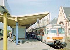 Bad Homburg S-Bahn, 1995 (RTM Boy) Tags: bahnhof db 1995 sbahn badhomburg