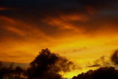 Another sunset (Luis Eduardo ) Tags: sunset sky orange yellow clouds bye solong luismosquera