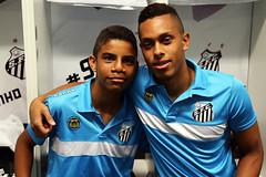 Weslley Pereira e Rafael Costa (Santos Futebol Clube) Tags: brasil do vila santos fc copa sub17 belmiro 2016