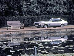 1977 Ford Capri 3.0S - Ford press photo (Mallorca's classic cars) Tags: ford 30 capri 1974 s ii 1975 mk2 1978 1977 3000 essex 1976 v6