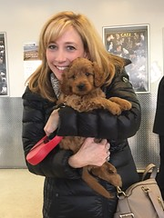 Riley & Nolan's little boy being picked up by his new mom at the airport!