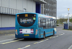 ASC 4059 - GN09AXO - OSR - CHATHAM DOCKSIDE - SAT 23RD APR 2016 (Bexleybus) Tags: kent dock side route southern chatham 200 dennis 191 enviro counties dockyard arriva adl thameside 4059 gn09axo