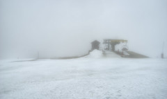 End of Season (Frags of Life) Tags: mountain snow ski cold fog sony serradaestrela badweather chairlift ilce7