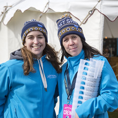 Liz and Sarah H (Adnams) Tags: beer theboatrace ghostship 2016 adnams furnivallgardens thebnymellonboatraces