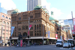 Queen Victoria Building - George Street Sydney New South Wales Australia (WanderingPhotosPJB) Tags: sydney australia newsouthwales georgestreet img queenvictoriabuilding