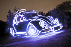 My First Light Drawing ([Nocturne]) Tags: nightphotography lightpainting canon volkswagen stars lights beetle led nocturne vwbeetle startrails lightdrawing lowlightphotography lpp sooc longexposurephotography fingerlight noctography lpwa 5dmkii lpuk