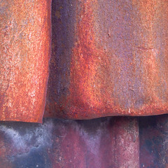 Richmond April 2016 (i_shudder) Tags: abstract colour texture composition rust iron pattern shapes melbourne richmond form corrugated abstarction