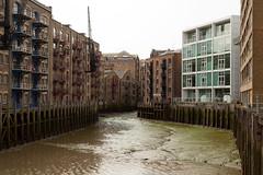 St Saviour's Dock   Bermondsey-6 (Paul Dykes) Tags: uk england london docks river riverside mud pirates piracy hanging bermondsey inlet warehouses noose execution stsavioursdock neckinger devilsneckinger devilsneckerchief