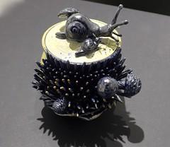 """Untitled,"" , Ceramics-Stoneware by Katelyn Brandow (ali eminov) Tags: students nebraska wayne galleries artists pottery painters potters stoneware sculptors cermaics studentartists nordstandvisualartsgallery katelynbrandow"