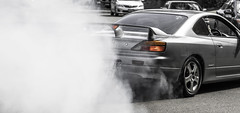 thumb up, good ride (bartosz.kwasnicki) Tags: up nissan smoke 200 silvia thumb burnout sx
