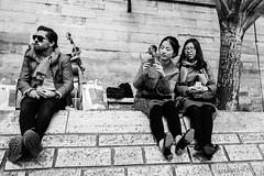 Jazzy (LACPIXEL) Tags: people paris france seine musicians soleil flickr fuji gente jazz fujifilm capitale personnes saxophone gens berges selfie musiciens touristes contrebasse xt1 lacpixel