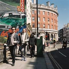 Clerkenwell Road, London, April 2016 (picturesmith) Tags: london mamiya tlr film mediumformat fuji barbican mf c330
