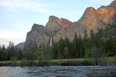 Merced River and Bridalveil Fall in Yosemite (GMLSKIS) Tags: california waterfall nationalpark yosemite mercedriver bridalveilfall