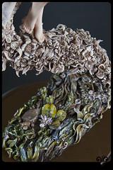Flower dance (ViKisART) Tags: sculpture flower art artist dolls handmade ooak crafts skulptur exhibition polymerclay artdoll flowerpower ausstellung puppe dollmaking   livingdoll dollmaker handarbeit supersculpey  unikat flowerdance polymerclayart   knstlerpuppen    puppenfrhlingkuenstlerpuppen