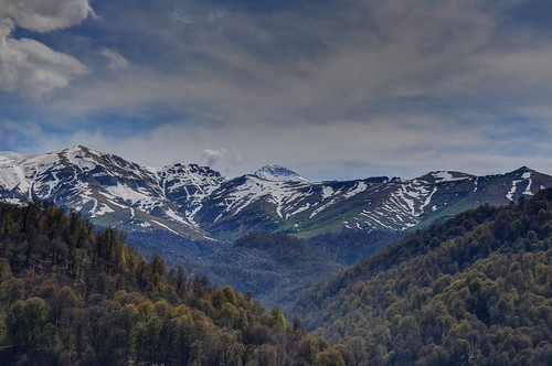Small Caucasus mountains