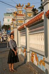 2016-03-09 Phu Quoc Island, Vietnam043 (HAKANU) Tags: sea water beautiful wall lady island waiting asia ship vietnam phuong wife boattrip rachgia phuquocisland