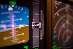 40,000 feet - Boeing 737 PFD (gc232) Tags: from macro art feet closeup turn plane work 35mm lens airplane fly flying inflight display bokeh f14 live altitude aviation flight jet sigma cockpit deck airline captain nd ft 40 boeing airlines instruments 35 000 turning pilot airliners 737 pfd 40000 b737 altimeter 737800 737700 737ng 737900 b737800 avgeek b737700 b737900 fl400 b737ng golfcharlie232