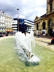 Gare de Lille. Ce jour la il faisait beau.. (fourmi_7) Tags: train gare lille btiment nord jetdeau