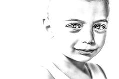 portrait (G e e n o) Tags: portrait blackandwhite bw white black eyes bn occhi highkey bianco ritratto biancoenero blackandwhitephotography