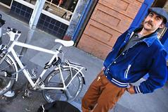 Courier Boyd Littell and his work bike-13.jpg (BikePortland.org) Tags: couriers messengers workbike bikemessengers boydlittell