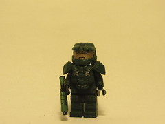 The Master Chief (V.2) (Daring Customs) Tags: lego chief halo master custom minifigure